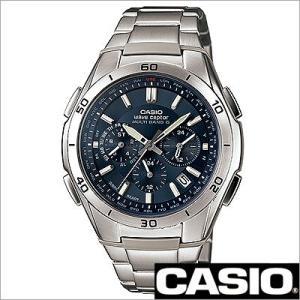 カシオ/CASIO/WAVE CEPTOR/ウェーブセプター/正規品/ソーラー電波時計/アナログ表示/クロノグラフ/マルチバンド6/メンズ腕時計/WVQ-M410DE-2A2JF