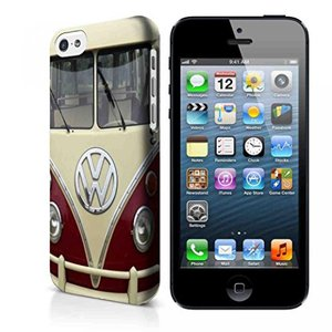 ffb40dfbcc フォルクスワーゲン 栗色の VW フォルクスワーゲン ミニ バス SGW 3d iPhone ケースとサムスン ケース (iPhone 6 3 D  ケース)