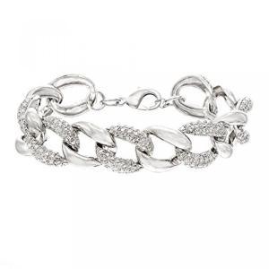 ■商品詳細 TWISTED LINK DESIGN: This oval link bracelet...