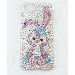 iPhone 7Plus/8Plus ケース SWAROVSKI ステラ・ルー フルデコ スワロフスキー キラキラ プレゼント|tinkerbell-azabu