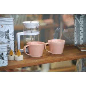 SAKUZAN  コーヒーカップ  ピンク 作山窯  Sara|tiogruppen