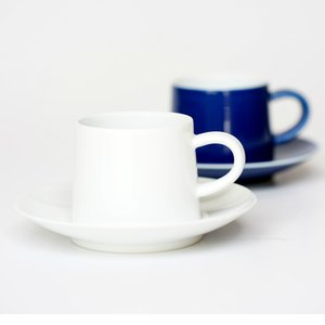 白山陶器 M型コーヒーカップ&ソーサー|tiogruppen