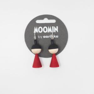 ムーミン リトルミィピアス Moomin Little My earrings / aarikka アアリッカ リトルミィ 北欧 アクセサリー ピアス|tiogruppen