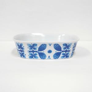 BLUES ブルー  メラミンボウルS スティグ・リンドベリ  Stig Lindberg Blues Breakfast Bowl|tiogruppen