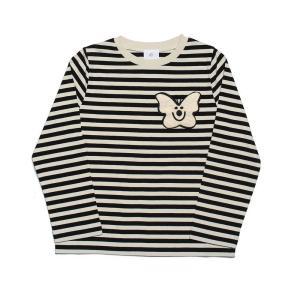 wynken ウィンケン 長袖Tシャツ (レターパック対応)LONG SLEEVE STRIPE TEE BLACK/ECRU|tiogruppen