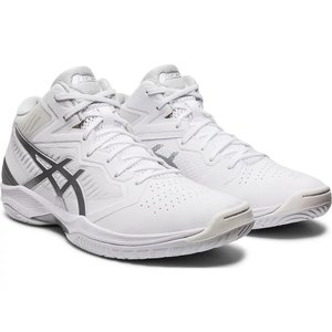asics GELHOOP V12 【1063A021101】WHITE/PURE SILVER tipoff