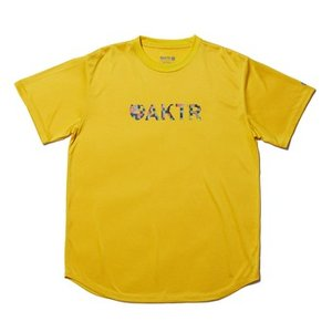 AKTR NOISE LOGO SPORTS TEE YELLOW 【11701005YEL】|tipoff