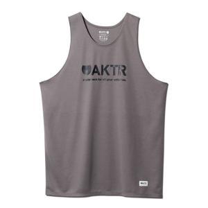 AKTR BASIC LOGO TANK 【119-011001GY】|tipoff