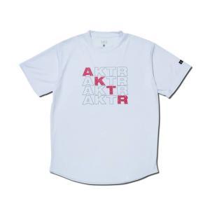 AKTR SQUARE AKTR SPORTS TEE【120-021005】WHITE|tipoff