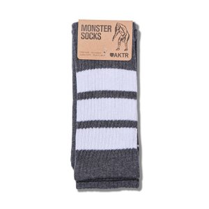 AKTR MONSTERSOCKS 【217017021】 DGY×WH|tipoff