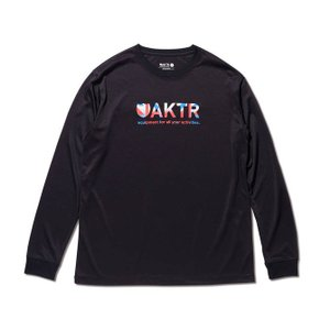 AKTR EXTREME LOGO L/S TEE 【219-007005】BLACK|tipoff