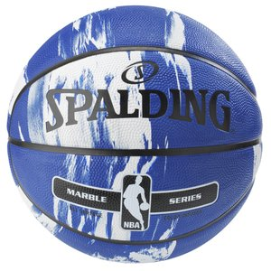 SPALDING マーブルコレクション ブルー 7号球 【83-633Z】 tipoff