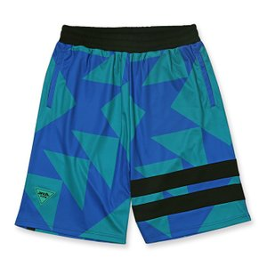 Arch sporty logo shorts 【B119-105】turquoise|tipoff
