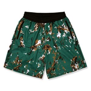 Arch  marbling shorts【B120129】green|tipoff