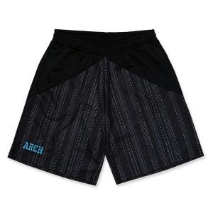 Arch  rough stripe shorts【B121104】black|tipoff