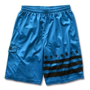 Arch one side border shorts【B14-027】blue tipoff