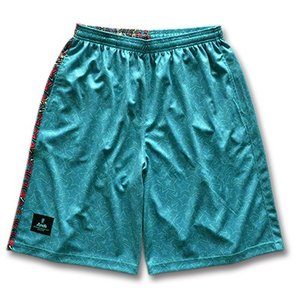 Arch twinkle star shorts【B15-001】turquoise blue tipoff