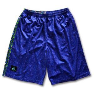 Arch twinkle star shorts 【B15-003】blue tipoff