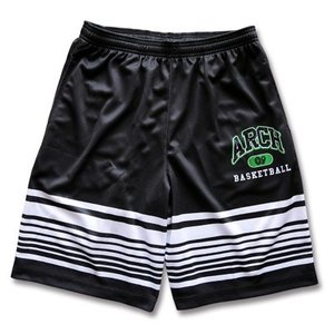 Arch mirage border shorts【black】 B15-018 tipoff