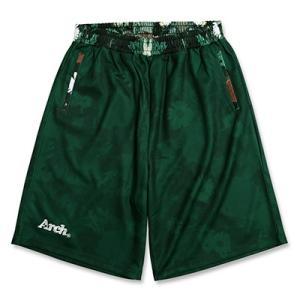 Arch mono flower shorts【green】B16-030 tipoff
