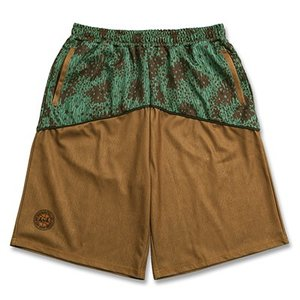 Arch raincamo denim  shorts【brown】 B17-001 tipoff