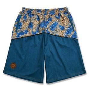Arch raincamo denim  shorts【blue】 B17-003 tipoff