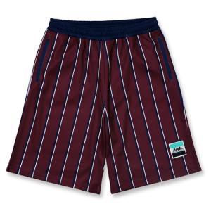 Arch trad stripe shorts 【B18-026】burgundy|tipoff