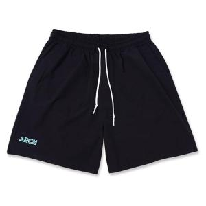 Arch  stretch nyron short pants【B221102】black/mint|tipoff