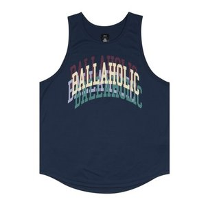 ballaholic COLLEGE LOGO  Over lap Tanktop 【BHATO00447NVY】navy|tipoff