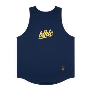 ballaholic blhlc Tanktop 【BHATO00495NYW】navy/yellow/off white|tipoff