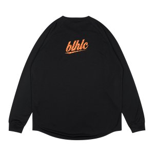ballaholic  blhlc Back Print COOL Long Tee  【BHATS00491KMO】black/mango/orange|tipoff