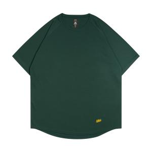 ballaholic  blhlc Back Print COOL Tee  【BHATS00496DYW】dark green/yellow/off white|tipoff