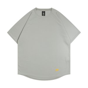 ballaholic  blhlc Back Print COOL Tee  【BHATS00496GYW】gray/yellow/off white|tipoff