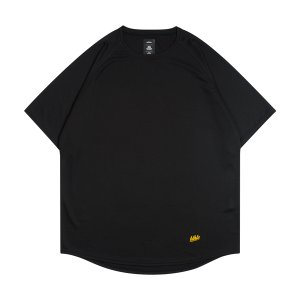 ballaholic  blhlc Back Print COOL Tee  【BHATS00496KYW】black/yellow/off white|tipoff