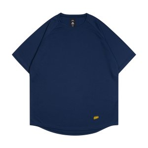 ballaholic  blhlc Back Print COOL Tee  【BHATS00496NYW】navy/yellow/off white|tipoff