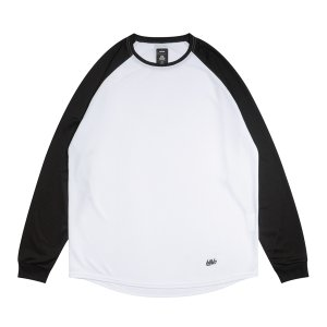 ballaholic 2 Tone  blhlc Cool Long Tee 【BHATS00525WHK】white/black|tipoff