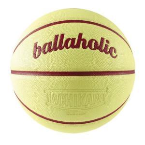7号球 ballaholic Playground Basketball / ballaholic x TACHIKARA 【BHBAC00469CTWN7】custard/wine|tipoff