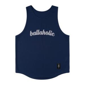 ballaholic LOGO Tanktop  【BHBTO00284NVG】navy/gray tipoff