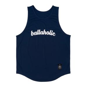 ballaholic LOGO Tanktop  【BHBTO00366NVW】navy/white|tipoff