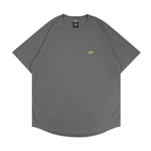 ballaholic  blhlc COOL Tee  【BHBTS00367CGL】charcoal gray/lime green|tipoff