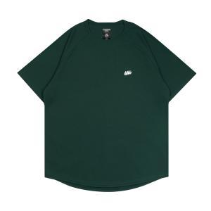ballaholic  blhlc COOL Tee  【BHBTS00367DGW】dark green/white|tipoff