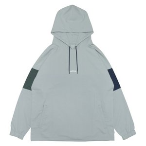 ballaholic 3Tone ANYWHERE Hoodie 【BHCTO00166GRY】gray/navy/dark green|tipoff