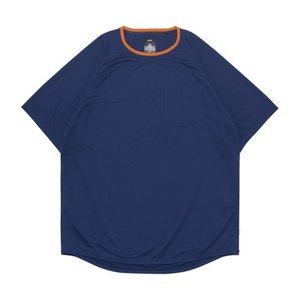 ballaholic  5 Pocket COOL  Tee 【BHCTS00112NVY】navy|tipoff