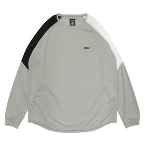 ballaholic BLHLC COOL 3Tone LongTee BHCTS00169GRY【gray/black/white】|tipoff