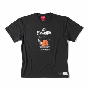 basketball junky×SPALDING タレパンディアーニくん 【BSK17102BLK】|tipoff