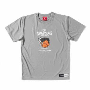 basketball junky×SPALDING タレパンディアーニくん 【BSK17102GRY】|tipoff