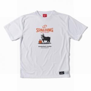 basketball junky×SPALDING 興味+1 【BSK17103WHT】|tipoff