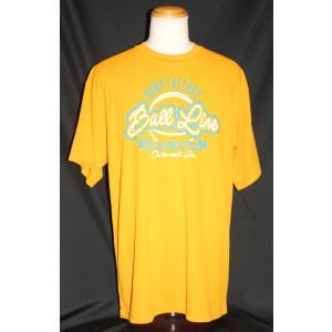 BALLLINE  Tシャツ 【BT1901】GOLD (2XL)|tipoff