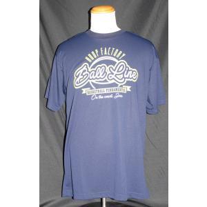BALLLINE  Tシャツ 【BT1901】NAVY (XL)|tipoff
