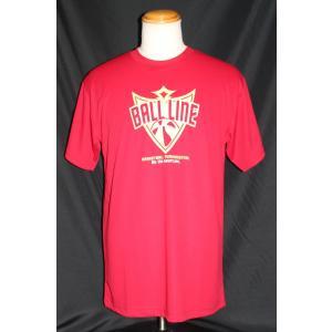 BALLLINE  Tシャツ 【BT1931】RED (L)|tipoff